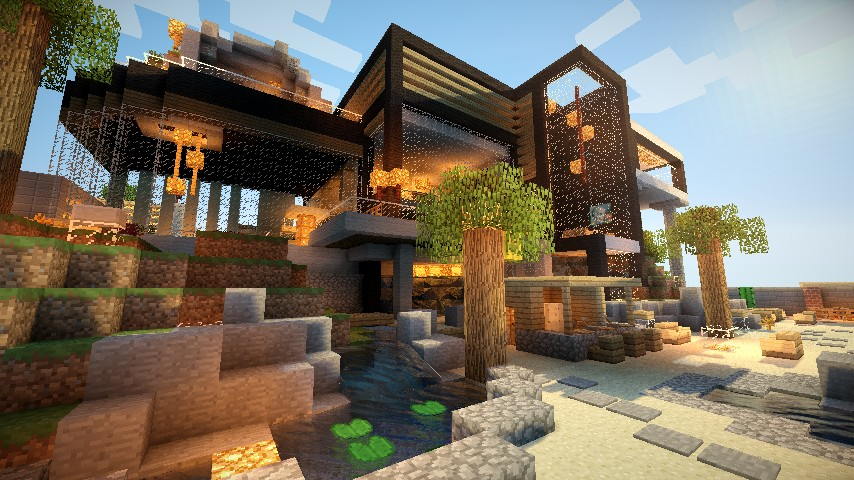 Luxurious Modern House | Карта Minecraft 1.4.7