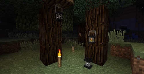 [1.5.2] Unlit Torches and Lanterns