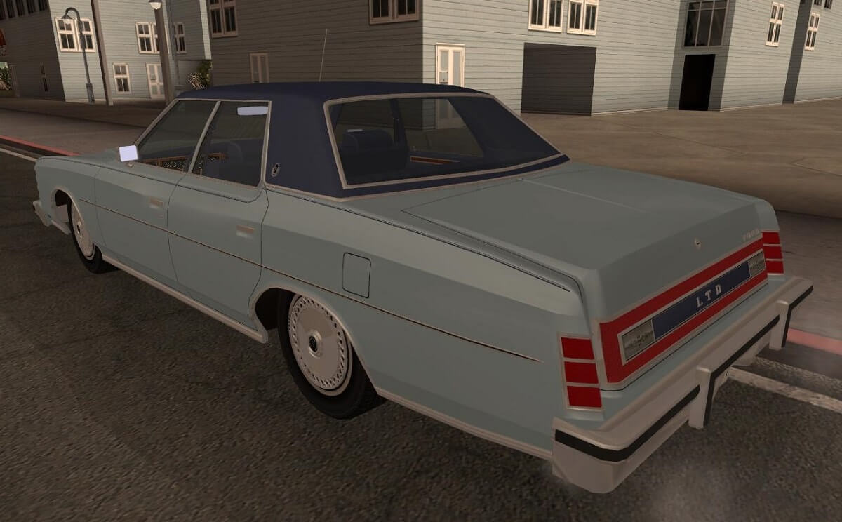 Ford LTD Brougham 4DR 1975
