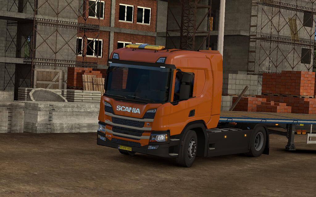Scania NGS P Cab